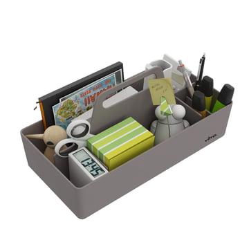 Vitra - Storage Toolbox mauve grau, befüllt