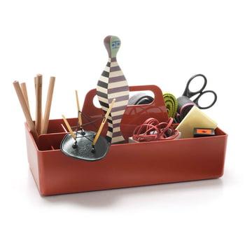 Vitra - Storage Toolbox backstein, befüllt