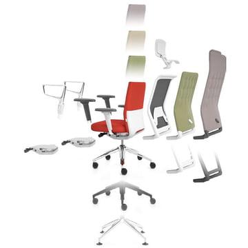 ID Stuhl von Antonio Citterio für Vitra