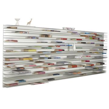 Bücher auf 120 x 360 cm horizontal anordnen