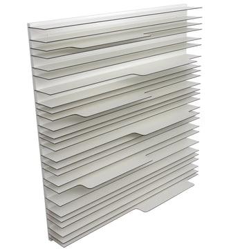 Das Paperback Regalsystem von spectrum mit den Maßen 120 x 120 cm