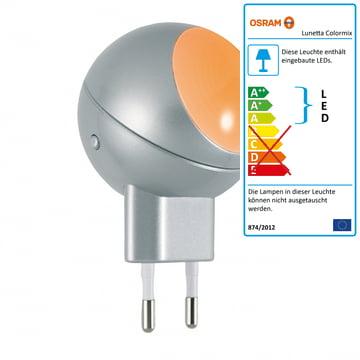 Lunetta Colormix LED-Orientierungsleuchte von Osram in Silber