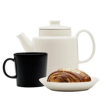 Iittala - Teema Teekanne mit Deckel, 1 l, weiß