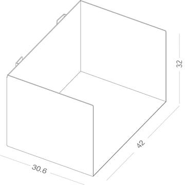 Maße des c Ordnerregals von Linea1
