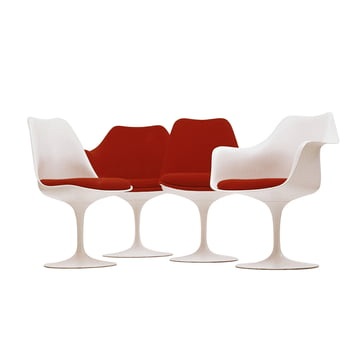 saarinen tulip stuhl von knoll im shop. Black Bedroom Furniture Sets. Home Design Ideas