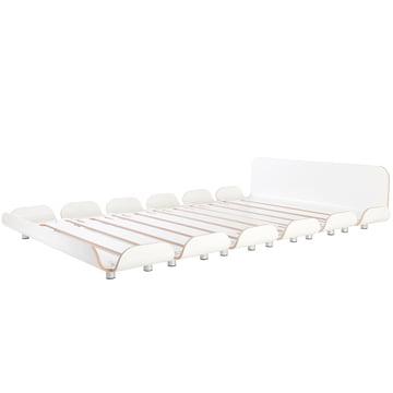 Tiefschlaf II Bett 140 cm von Stadtnomaden in Weiß