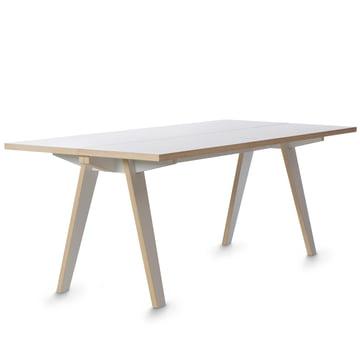 Tojo - Steck Tisch, weiß