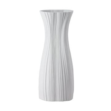 Rosenthal - Plissée Vase, weiß, 38 cm