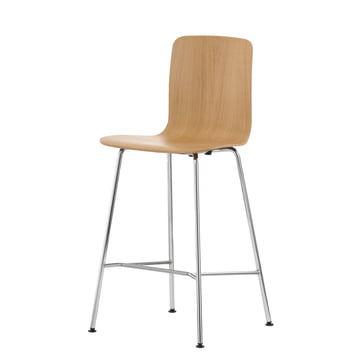 Vitra - Hal Ply Stool medium, Eiche hell