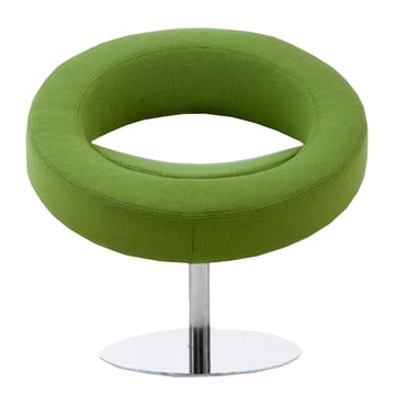 Softline - Hello Drehsessel, grün - vorne