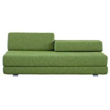 Softline - Lounge 3-er Schlafsofa, grün - vorne