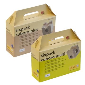 Sixpack Zusatzkästen von Cuboro