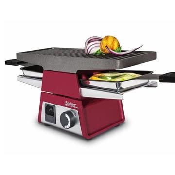Spring - Raclette 2+ Basismodul, rot
