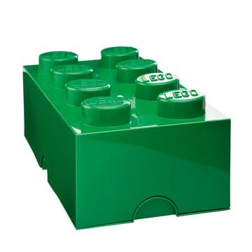 Lego - Storage Box 8, dunkelgrün