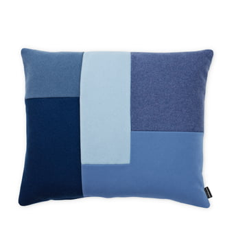 Normann Copenhagen - Brick Kissen, blau