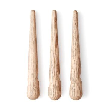 Normann Copenhagen - Timber Untersetzer - einzeln nebeneinander