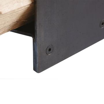 artepuro - Holzstapler wipster - Detail, Schraube