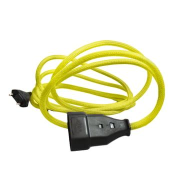 Extension Cord Verlängerungskabel von NUD Collection in Gelb