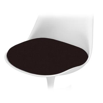 Knoll - Sitzkissen für Saarinen Tulip Stuhl - Tonus, schwarz
