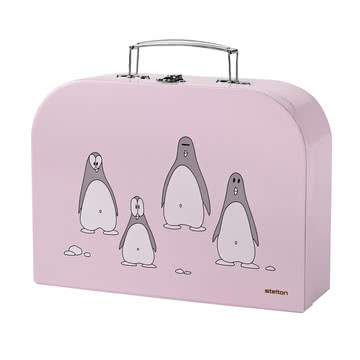 Stelton - Penguin Kinderbesteck, rosa