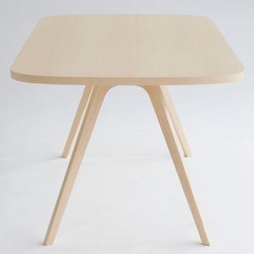 Wogg 43 Tisch, 90 x 170 cm, Esche natur