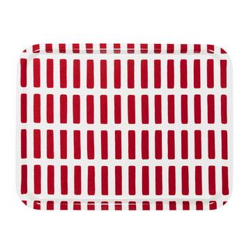 Artek - Siena Tablett, groß, rot/ weiß