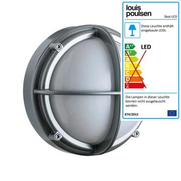 Skot Decken- und Wandleuchte LED von Louis Poulsen