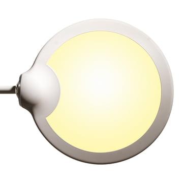 Klein & More - Trapeze LED Tischleuchte, groß, weiß - Lampenkopf