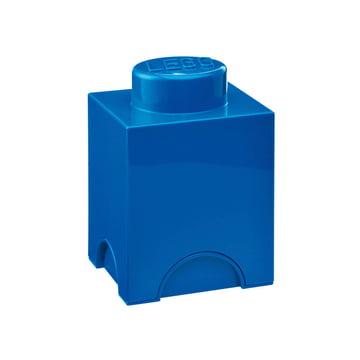 Lego - Storage Brick 1, blau