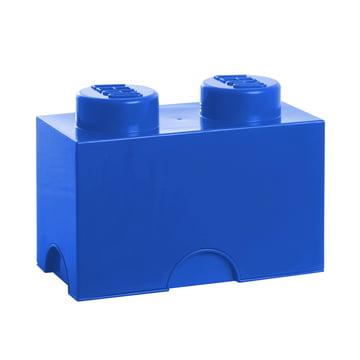 Lego - Storage Brick 2, blau