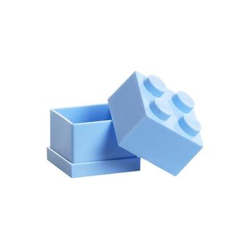 Lego - Mini-Box 4, hellblau - offen