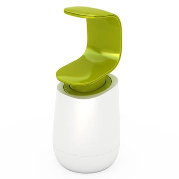 Joseph Joseph - C-pump Seifenspender, weiß/ grün