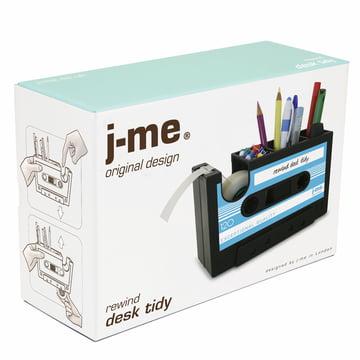 j-me - Rewind Schreibtischhelfer blau - Verpackung
