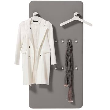 Cascando - Pillow Paneel für 2 x 3 Kleiderbügel u. 14 Mantelhake