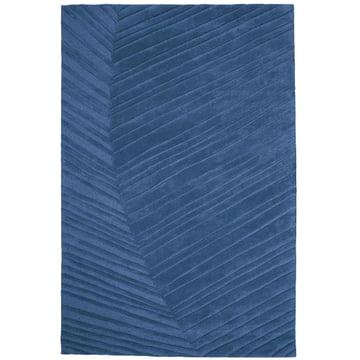Ruckstuhl - Palm Leaf Teppich, saphirblau