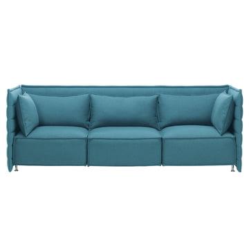 Vitra - Alcove Plume Sofa, blau