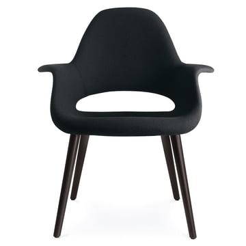 Vitra - Organic Stuhl, nero / Esche schwarz