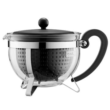 Bodum - Chambord Teebereiter Kunststoff, schwarz, 1,5 L