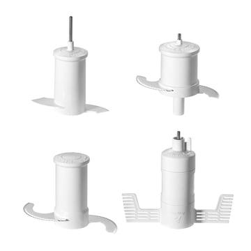 KitchenAid - Artisan Food Processor, 4,0 L - Messer, Schneebesen