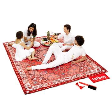 Fatboy - Picnic Lounge rot, Familie und Accessoires
