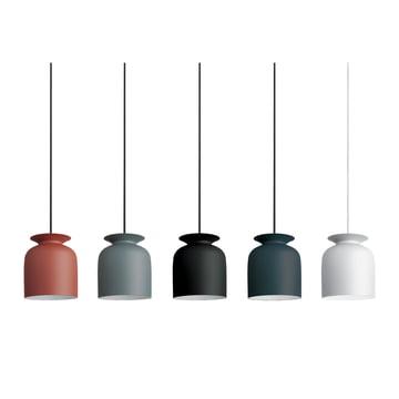 Gubi - Ronde Pendelleuchte, Ø 20 cm - Gruppe, Farben