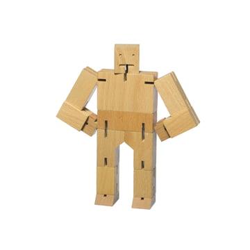areaware - Cubebot, klein, Buche