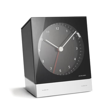 Jacob Jensen - Alarm Clock Series Quartz 341, schwarz