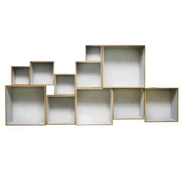 OK Design - Babushka Boxes, grau - vorne