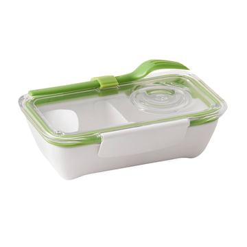 Box Appetit Bento Box von Black + Blum in Lime / Weiß
