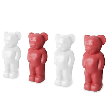 Authentics - Lumibär, weiß, rot - Gruppe