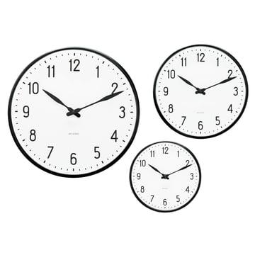 Rosendahl Timepieces - AJ Station Wanduhr - Gruppe, Größen