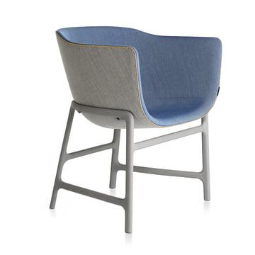 Fritz Hansen - Minuscule Stuhl, light grey 123, cobalt blue 762
