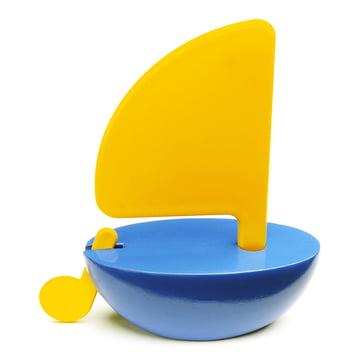 Playsam - Sailboat, gelb / blau