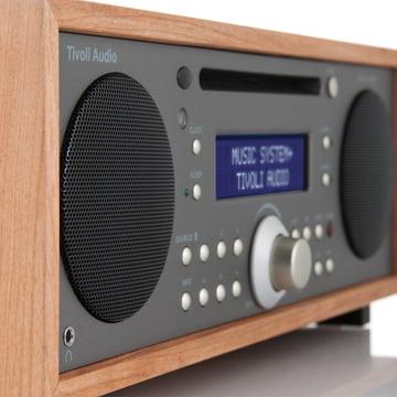 Tivoli Audio - Music System+ BT, kirsche/ metallic taupe - Seite